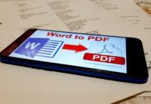 Cara Mengubah File Word to PDF di Ponsel