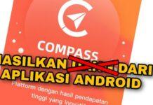 Aplikasi Compass Penipuan