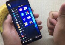 Cara Mengubah Tampilan Android Menjadi Windows 10