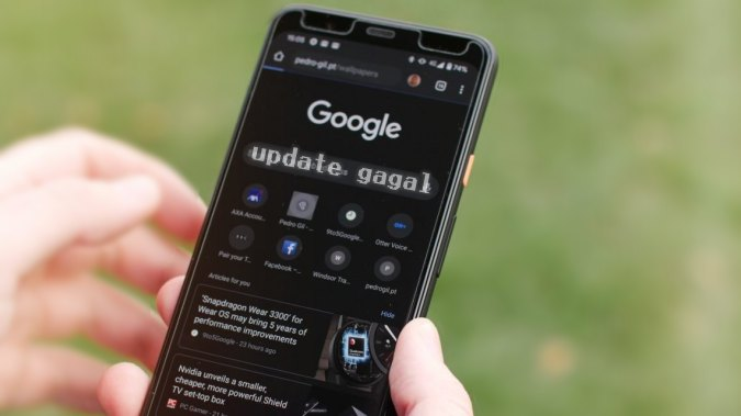 Chrome Android Gagal Update