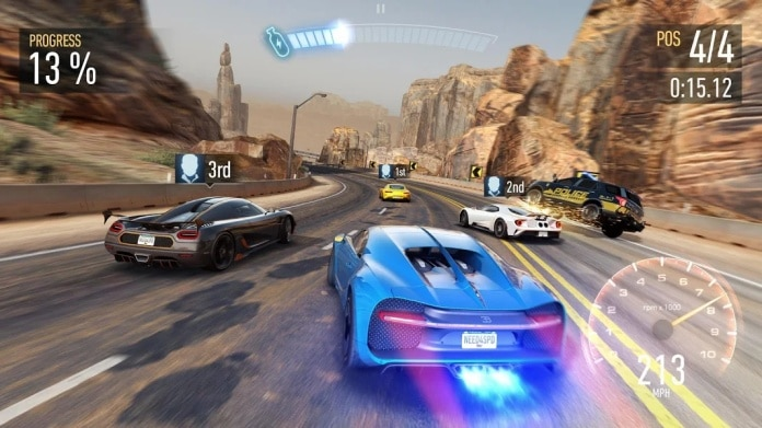 Game Balap Need for Speed No Limits