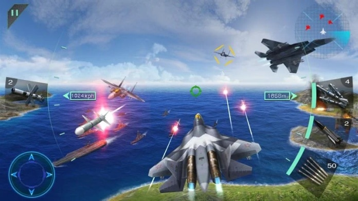 Game Sky Fighters 3D