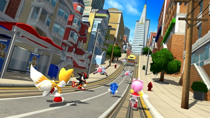 Game Balapan Sonic Forces